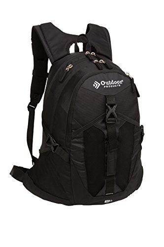 Outdoor Products Ridge Day Pack, Black, One Size