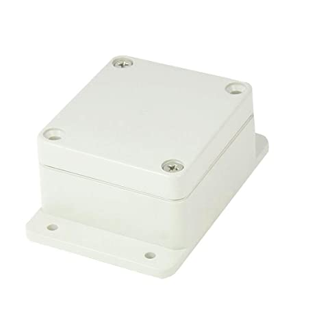 Saim Waterproof Electrical Box 64mm x 58mm x 34mm DIY ABS Plastic  Electronic Project Case Junction Box Enclosure Case