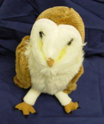 amazon com wizarding world harry potter barn owl plush poseable 12