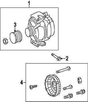 mercedes benz wiring diagram altermator amazon com mercedes benz 278 150 00 60  alternator pulley automotive  amazon com mercedes benz 278 150 00 60