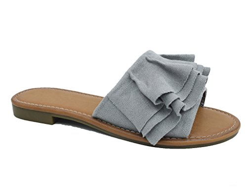 Maxmuxun Sandali Donna Giallo Donna Pantofole Maxmuxun Sandali Giallo Pantofole Sandali Maxmuxun q64SxAH6