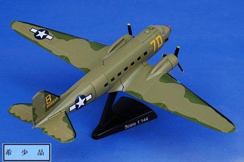 """1:144 モデル パワー 郵便 Stamp Planes 5558-1 ダグラス C-47 航空機 ダイキャスト モデル USAAF 436th TCG, 80th TCS, """"Honey Bun"""