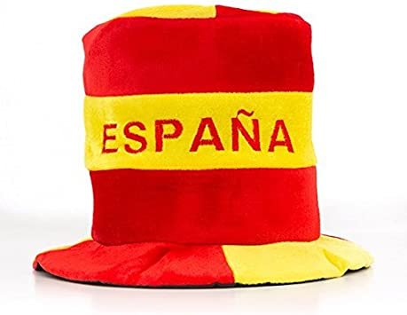 Eurowebb gorro con el de la bandera de España – Disfraz Aficionado español: Amazon.es: Electrónica
