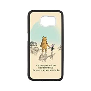 Hjqi - Personalized Winnie the Pooh quote Phone Case, Winnie the Pooh quote DIY Case for SamSung Galaxy S6