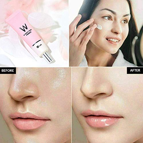 Pore Primer-for AirFit Porenprimer, 35 g Lochprimer-Creme mit großen Poren Perfect Cover Face Primer Porenminimierer, Hautglanz für Make-up-Primer