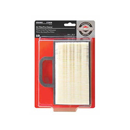 B&S Air Filter Cartridge With Precleaner For Intek 18-22 Hp V Twin Engines 6.75