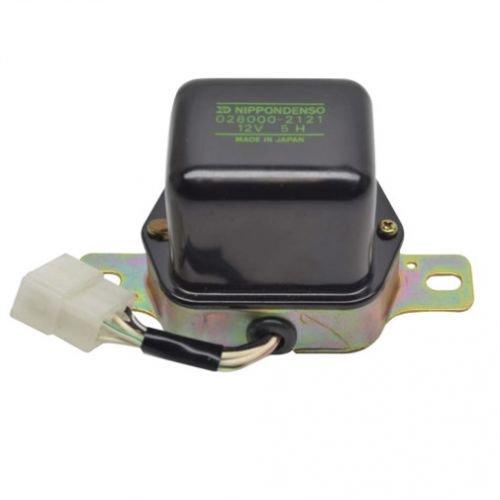 Voltage Regulator - OE Mechanical Denso - 12 Volt Kubota Hitachi Ford Yanmar 2110 1910 1310 L245 1500 1700 L275 1510 1710 M7030 L2850 1900 L235 M4030 M5950 M7950 M4950 L185 M6950 L345 B8200 M4500