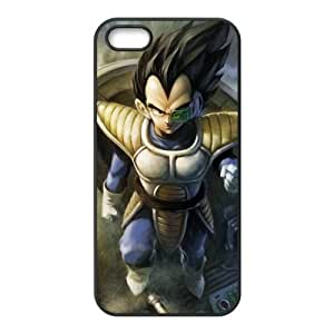 Custom Cartoon Film Dragon Ball Z Vegeta Personalized Apple Iphone 5 and 5s Hard Case Cover phone Cases Covers