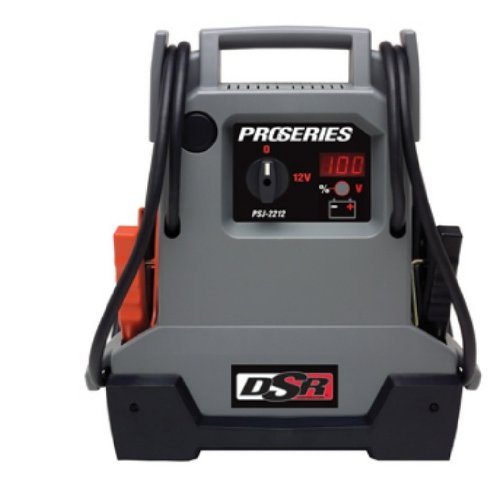 Schumacher PSJ 2212 DSR ProSeries 2200 Peak Amps Jump Starter And Portable Power Unit