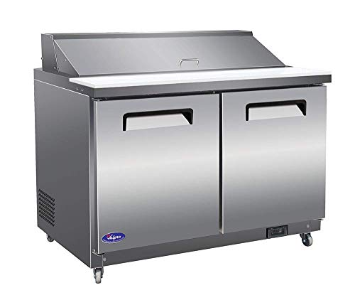 VALPRO VP48S 48″ SANDWICH/SALAD FOOD PREP TABLE REFRIGERATOR