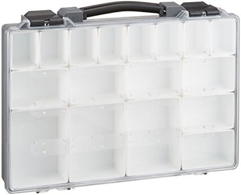 アイリスオーヤマ 工具箱 小物収納ケース 透明ボックス パーツセパレーター PS-330 グレー