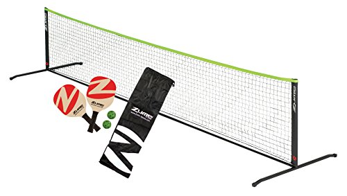 Zume Games Portable Instant Play Portable Pickleball Set Includes Paddles, Balls, and Net by Zume