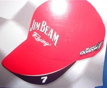 - Jim Beam Robby Gordon Official Team Racing Cap Hat