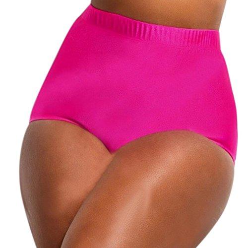 Amanod 2018 popular hot saleLadies High Waisted Bikini Tankini Bottoms Swim Briefs Swimming Pants Bathing