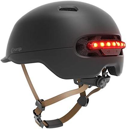 [スポンサー プロダクト]Smart4u SH50防水スマート通勤用ヘルメット自転車バックライトバックライトマウンテンスクータープロテクターブレーキ感応