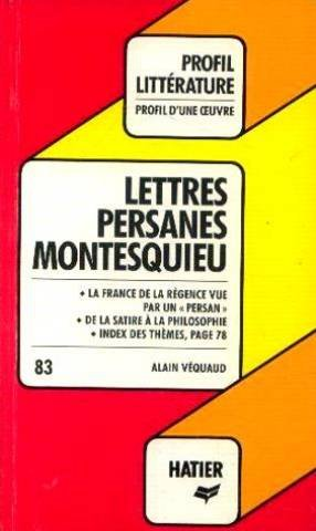 Montesquieu. Lettres persanes