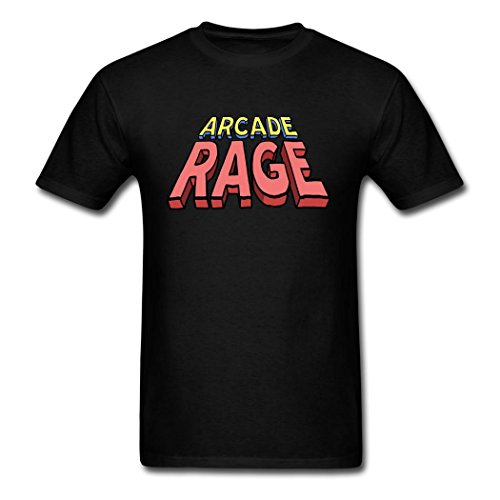 LiliGang Men's Arcade Rage Comic T-Shirts