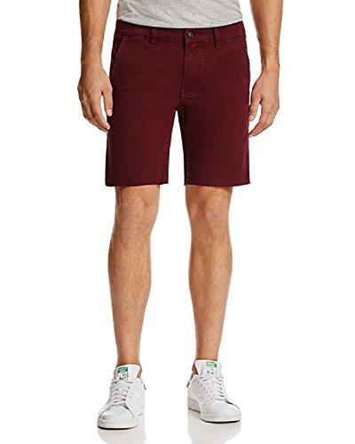 [BLANKNYC] New Oxblood RED Reno 911 Slim FIT Stretch Casual Chino Shorts Size 32]()