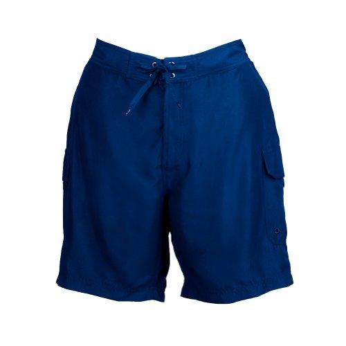 Plus Size Board Shorts - Navy