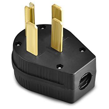 legrand3867cc5 angle plug three pole four wire 30 amp 50 amp 125 rh amazon com