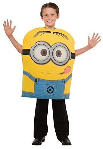 Despicable Me Child's Costume, Minion Dave Costume, Small (US Size 4-6)