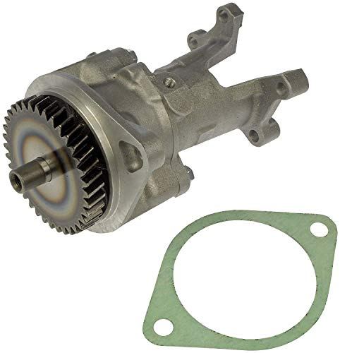 APDTY 015921 Gear Driven Mechanical Vacuum Pump Compatible With 1994-2002 Dodge Ram 2500 3500 Pickup w/Cummins 5.9L Diesel Engine (Replaces 3937193RX, 4746706, 4874365, 5019734AA, R5019734AA) ()