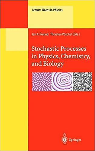 ผลการค้นหารูปภาพสำหรับ Stochastic Processes in Physics, Chemistry and Biology