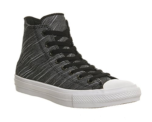 Converse Unisex-Erwachsene Chuck Taylor All Star II High Sneaker Top Schwarz/Weiß