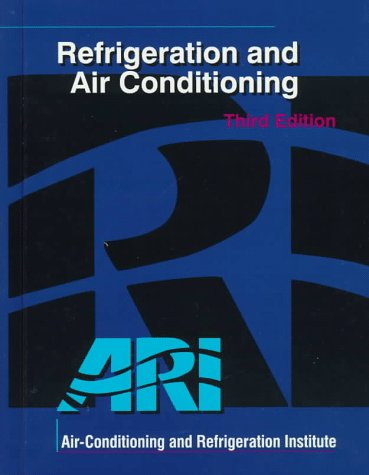 Refrigeration and Air Conditioning (3rd Edition)