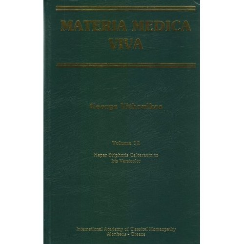 Download Materia Medica Viva Volume 12 Hepar Sulphuris Calcareum to Iris Versicolor ebook
