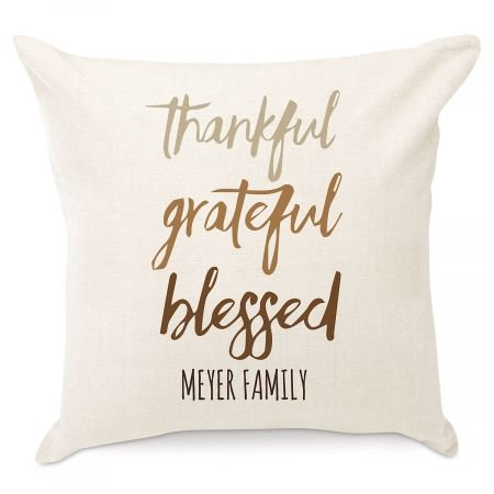 Amazon.com: Personalizado agradecido Grateful Bendecido ...