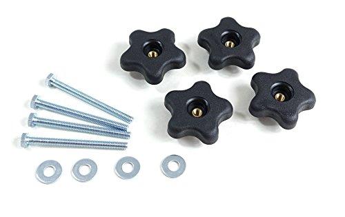 POWERTEC 71070 T Track Knob Kits(12-Pack)