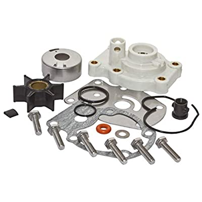 SEI MARINE PRODUCTS- Compatible with Evinrude Johnson Water Pump Kit 0393630 20 25 35 HP 2 Stroke 1980-2005. Please see description for specific models.: Automotive