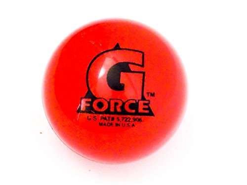 Mylec Hot Weather Liquid Filled G-Force Hockey Balls, (Pack of 3) RED