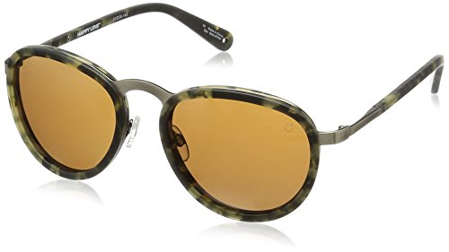 Spy Optic Unisex Nautilus Happy Lens Collection Sunglasses, Matte Camo Tort/Bronze, One Size Fits All by Spy