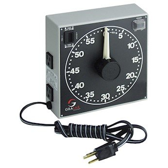 Dimco-Gray 300 Large Dial Darkroom Timer/Controller, 60 minute; 115 VAC