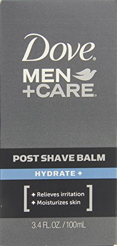 Dove Men + Care Poster rasage, hydrate + 3,4 oz