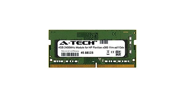 DDR4 2400MHz SODIMM PC4-19200 260-Pin Non-ECC Memory Upgrade Module A-Tech 8GB RAM for HP Pavilion X360 14Q-DH0XXX