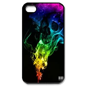 Skull art Pattern Hard Shell Phone Case For For Iphone 4,4S Case color19