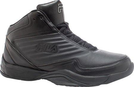 Fila Mens Import Basketbalschoen Zwart, Zwart, Zwart