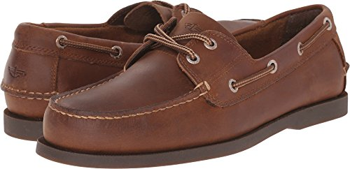 - Dockers Mens Vargas Leather Casual Classic Boat Shoe, Rust, 14 W US W US