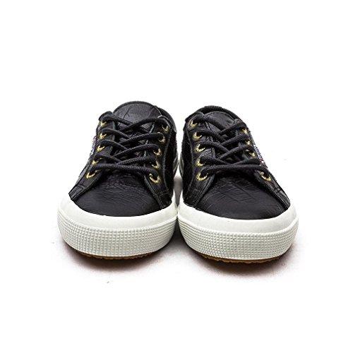 Superga 2750-fglwembossedcocco - Zapatillas de deporte Mujer Black