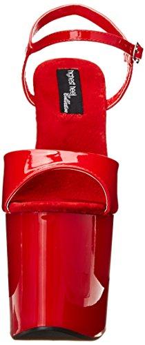 Patent Women's 51 Highest Fantasy Heel inch Platform 6 Sandal Red The nxxgqIf