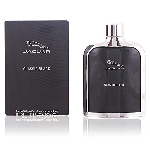 Jaguar Classic Black, 3.40 Ounce (Perfumes For Men)