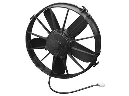 amazon com spal 30102038 12in puller fan paddleblade 1640 cfm 1 rh amazon com
