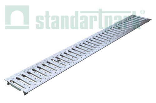 Standartpark - 4 inch Galvanized Stamped Steel Grate (Best Rated Gutter Covers)
