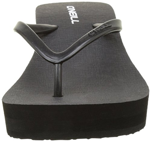 ONeill Fw Wedge Flipflop 7a9522 - Chanclas Mujer Noir (Black Out 9010)