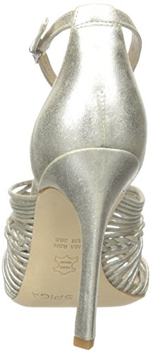 Dorian Women's Via Spiga Sandal Platinum Dress fRqPwqE