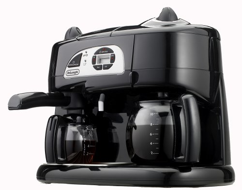 Delonghi Coffee Maker ~ Delonghi bco t combination coffee espresso machine