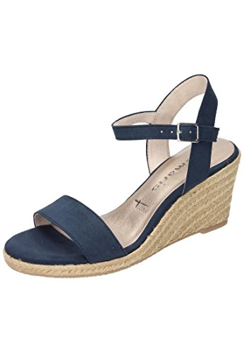 Tamaris1-1-28300-28-805 - zapatos de tacón Mujer azul marino